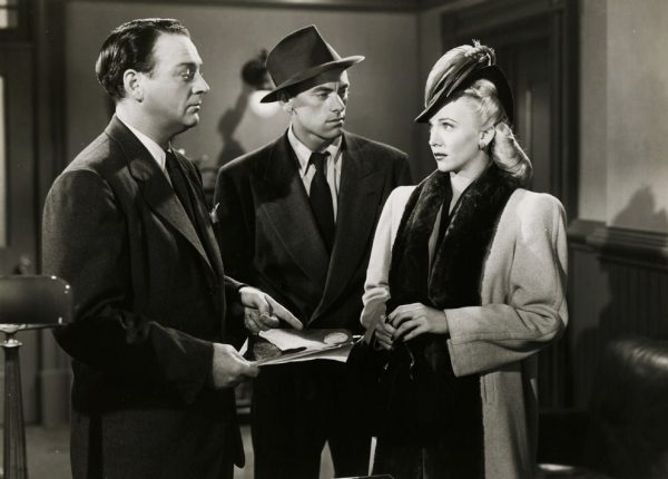 L. to R. : William Gargan, John Ireland & Carole Landis
